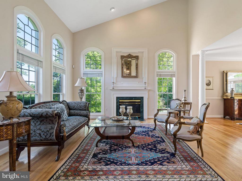 Living Room - 11109 TOMMYE LN, RESTON