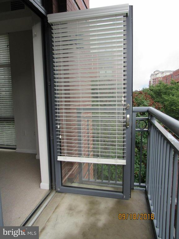 Balcony - 1021 GARFIELD ST #336, ARLINGTON