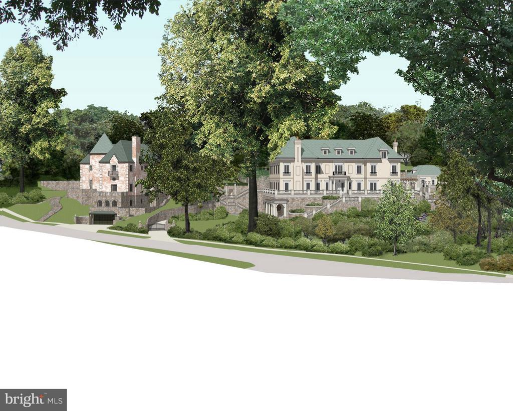 Rendering: Possible new home on double lot - 2701 32ND ST NW, WASHINGTON