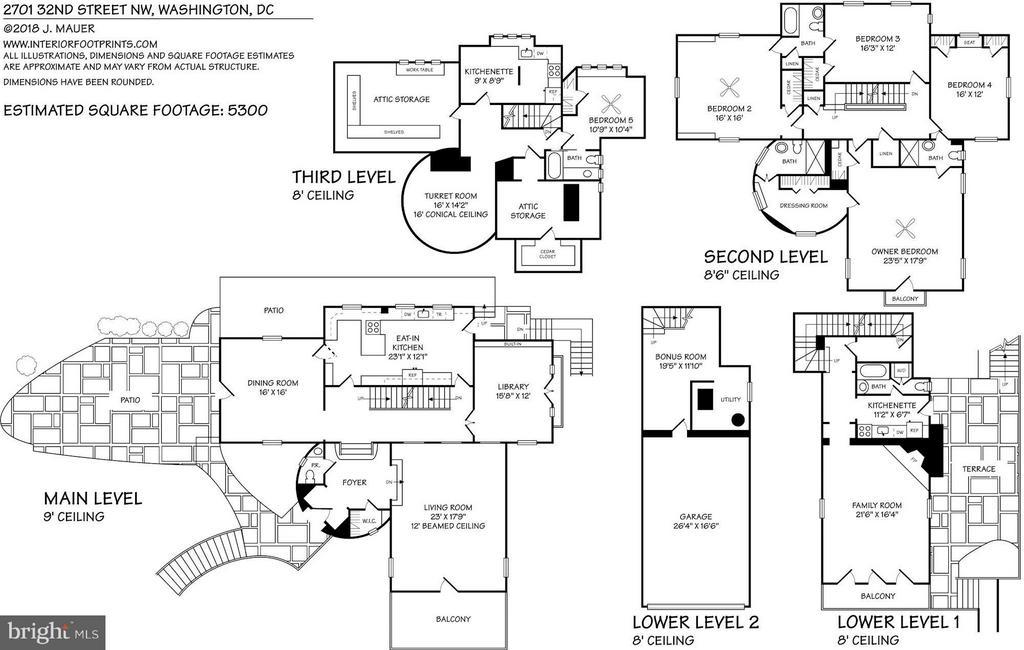 Floorplans - 2701 32ND ST NW, WASHINGTON