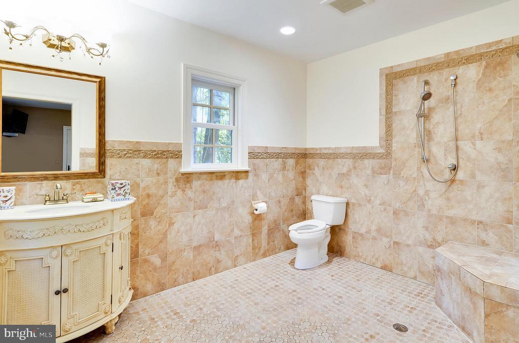 Wheelchair accessible bath, mail level - 4015 N RANDOLPH ST, ARLINGTON