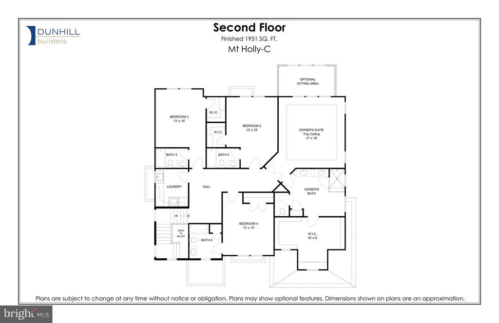 Second Floor - 908 HILLCREST DR SW, VIENNA
