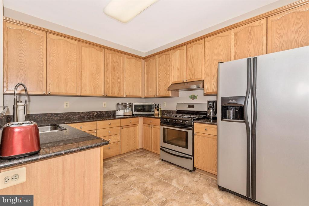 Kitchen  With Stainless Steel Appliances - 9546 KINGSTON PL, FREDERICK