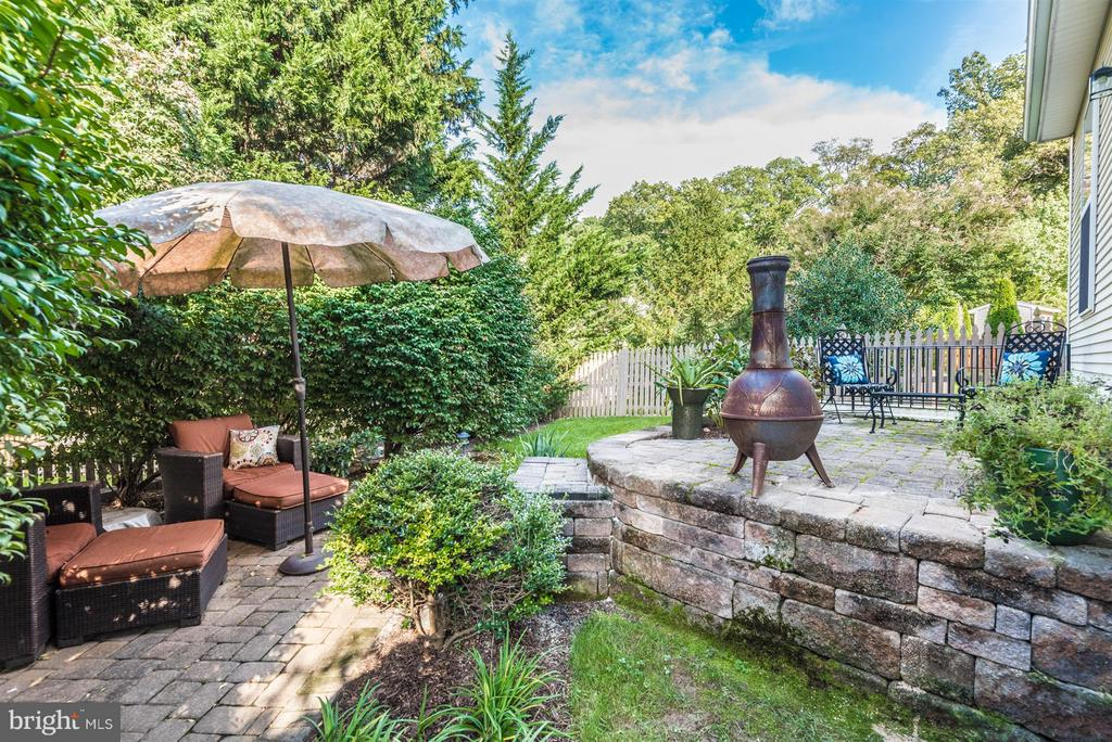 Peaceful and Private Paver Patio - 9546 KINGSTON PL, FREDERICK
