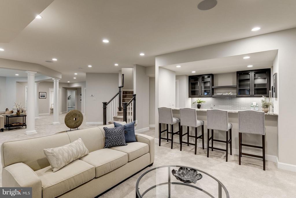Model Home Photo | Recreation / Wet Bar - 10710 HARLEY RD, LORTON