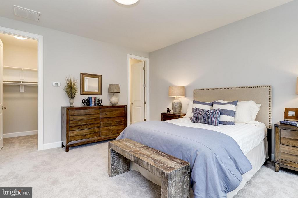 Model Home Photo | Each Bedroom with Full Bath, WC - 10710 HARLEY RD, LORTON