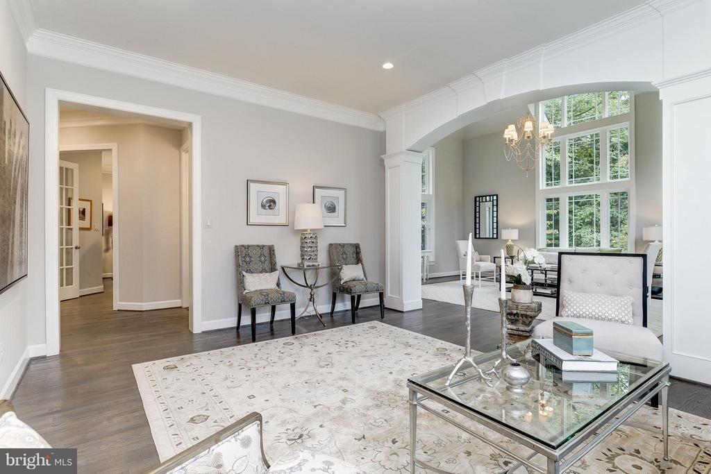 Model Home Photo | Living Room & Conservatory - 10710 HARLEY RD, LORTON