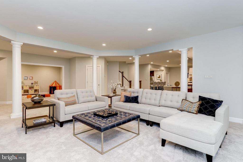 Model Home Photo | Recreation Room Area - 10710 HARLEY RD, LORTON