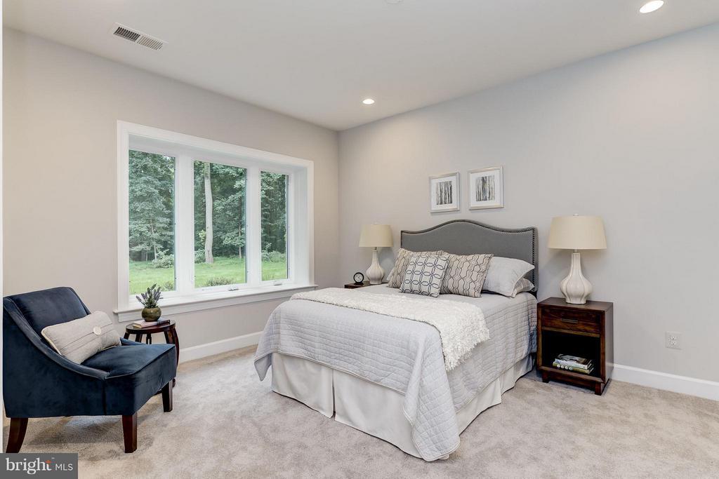 Model Home Photo | Basement Bed Room/ Den - 10710 HARLEY RD, LORTON