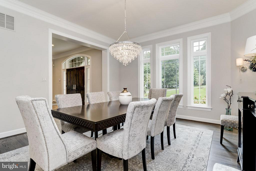 Model Home Photo | Formal Dining - 10710 HARLEY RD, LORTON