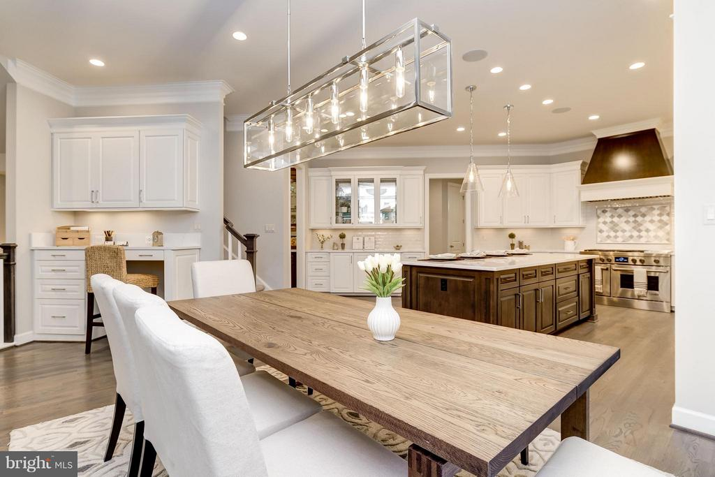 Model Home Photo |  Kitchen - Eat-in area - 10710 HARLEY RD, LORTON