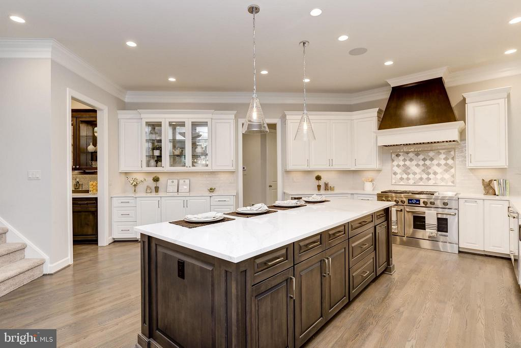 Model Home Photo   Expansive Kitchen - 10710 HARLEY RD, LORTON