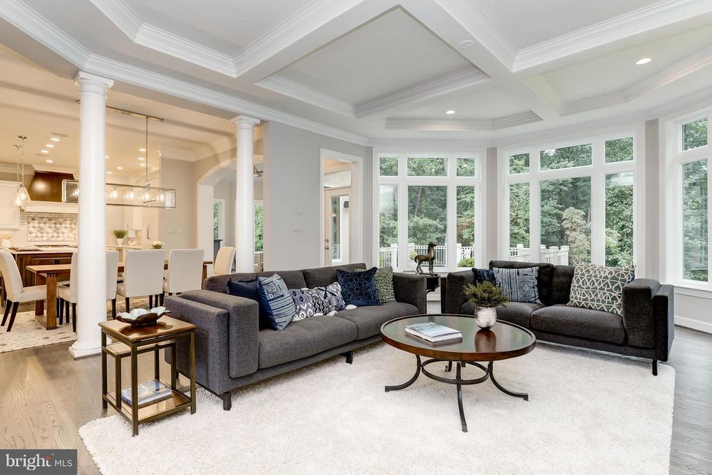 Model Home Photo | Family Room - 10710 HARLEY RD, LORTON