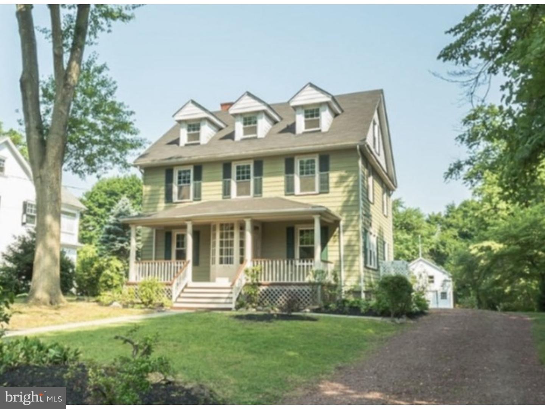 独户住宅 为 出租 在 335 E MAIN Street Moorestown, 新泽西州 08057 美国