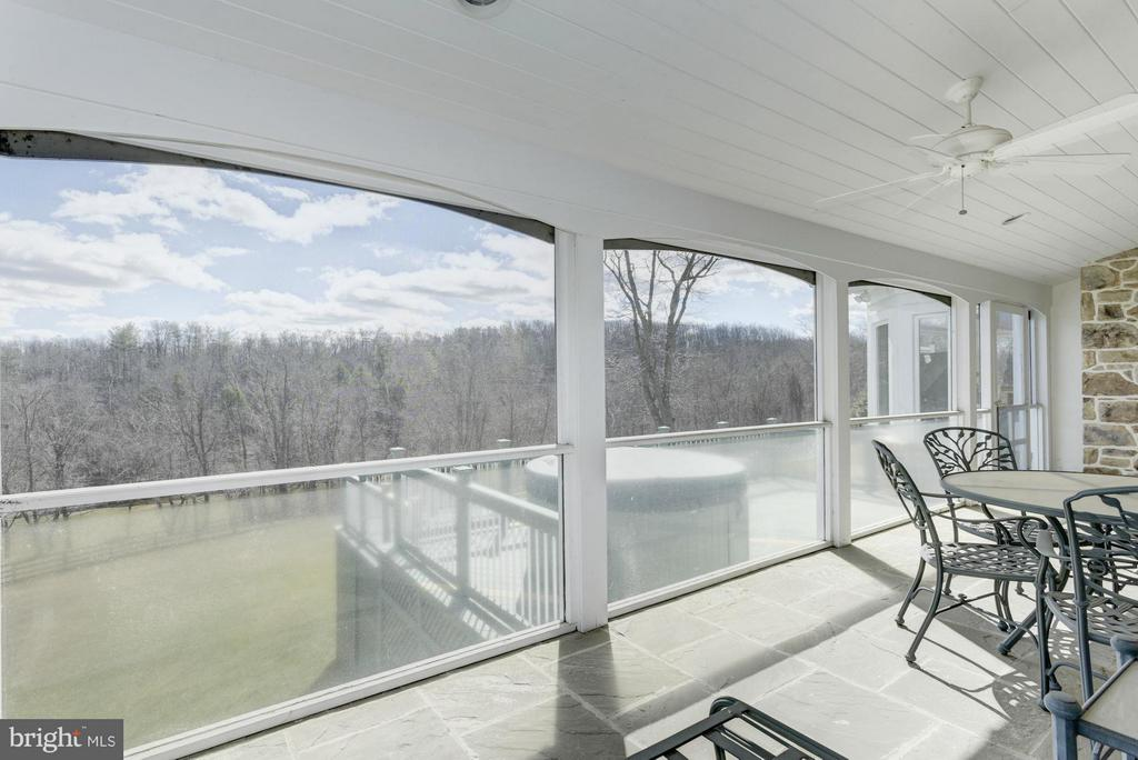 Goose Creek wraps the home - 35679 MILLVILLE RD, MIDDLEBURG