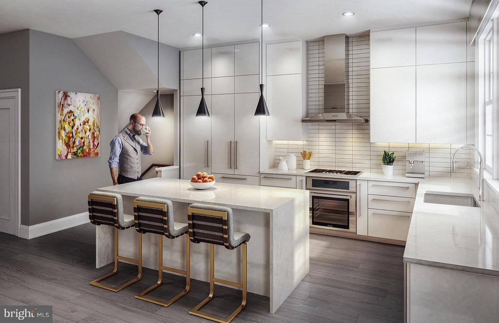 Kitchen - 13 BAKERS WALK ST #CARLYLE LOT 602, ALEXANDRIA