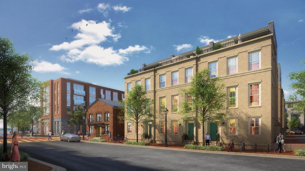 Exterior (Front) - 13 BAKERS WALK ST #CARLYLE LOT 602, ALEXANDRIA