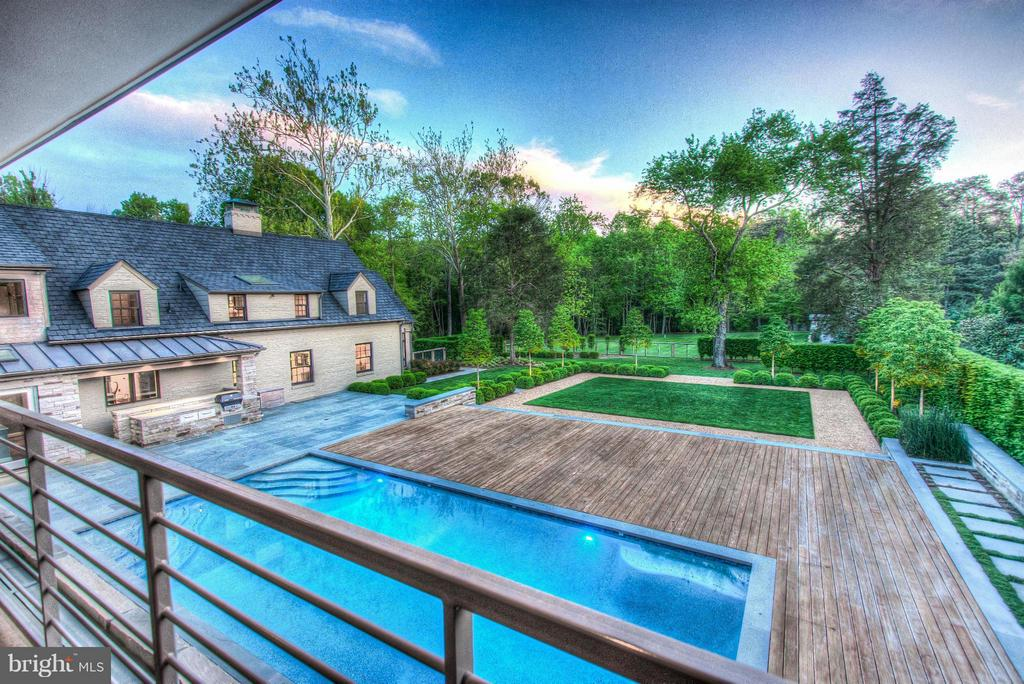 View from Master - 3022 FOX MILL RD, OAKTON