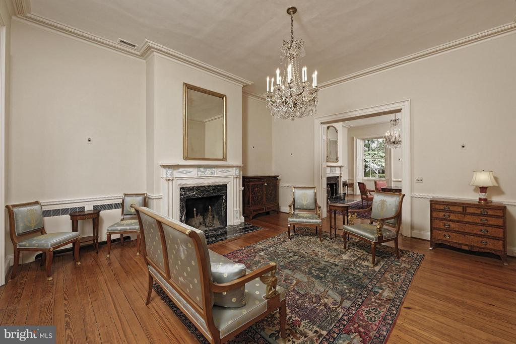Front Drawing Room - 301 SAINT ASAPH ST S, ALEXANDRIA