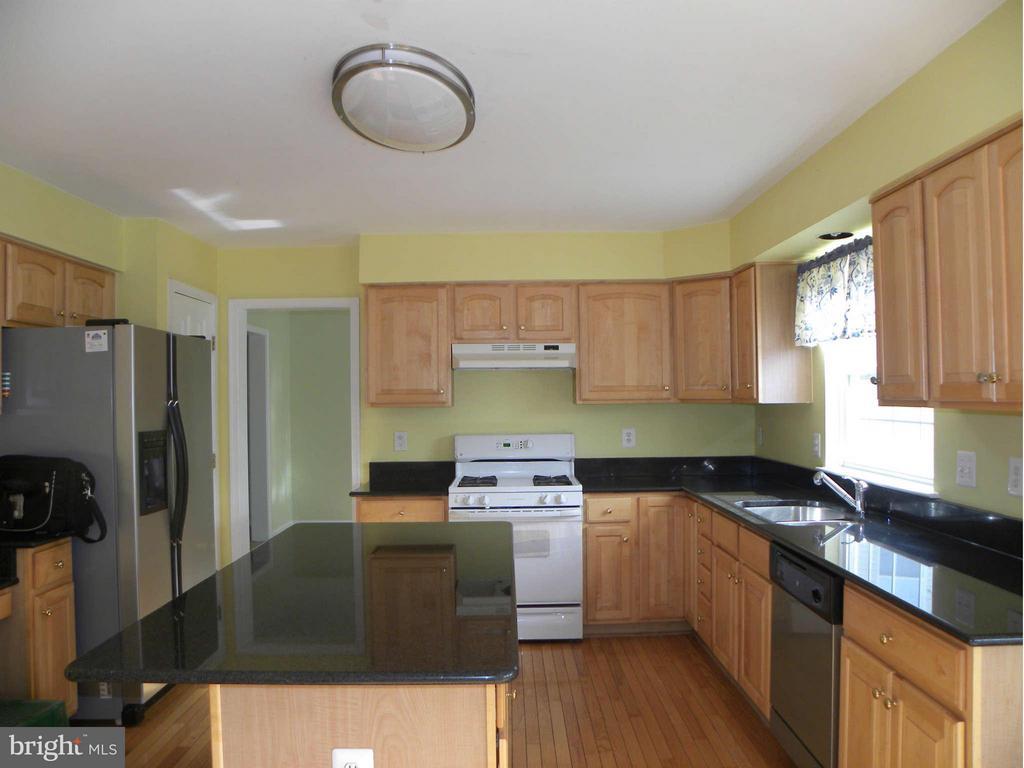Kitchen as viewed from breakfast area - 43114 LLEWELLYN CT, LEESBURG
