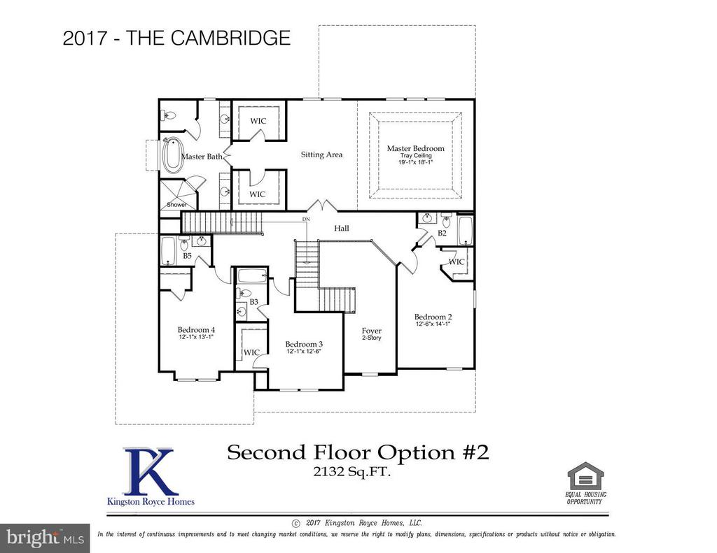Cambridge Model Upper Level Option 2 - 3859 GANELL PL, FAIRFAX