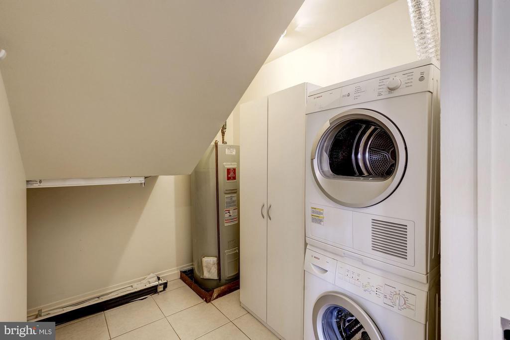 Laundry room and storage - 3251 PROSPECT ST NW #412, WASHINGTON