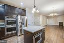 Double Ovens plus Island Microwave - 12209 DELL WAY, FREDERICKSBURG