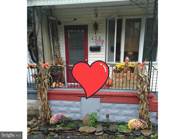 Single Family Home for Sale at 430 E ARLINGTON Street Shenandoah, Pennsylvania 17976 United States