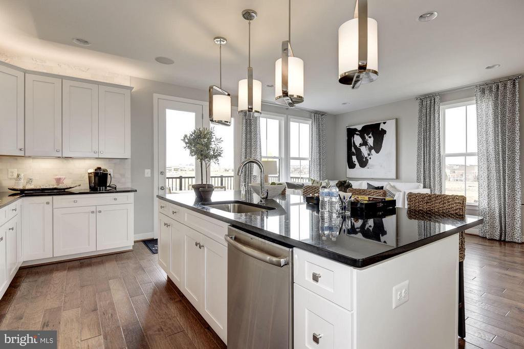 Kitchen - 42300 CRAWFORD TER, ASHBURN
