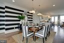 Dining Room - 42300 CRAWFORD TER, ASHBURN