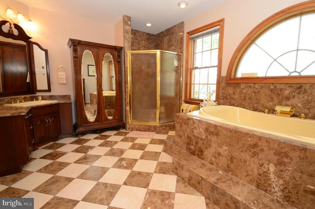 Amazing master bath with full size shower - 2808 DEEPWATER TRL, EDGEWATER