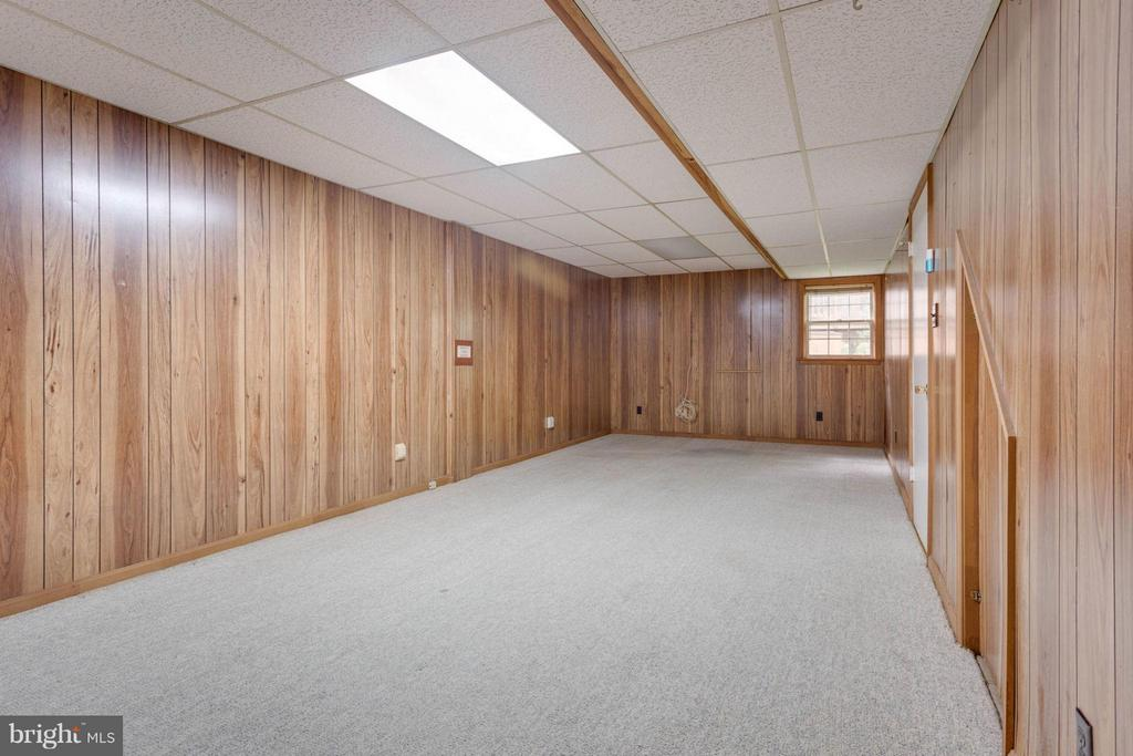 Huge Game Room with Windoiw - 8317 EPINARD CT, ANNANDALE