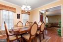 Dining Room - 46913 ANTLER CT, STERLING