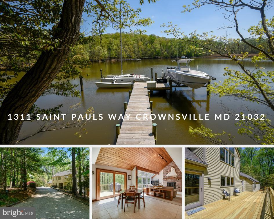 Single Family for Sale at 1311 Saint Pauls Way Crownsville, Maryland 21032 United States