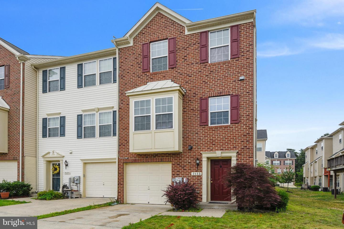 Photo of home for sale at 7173 Hummingbird Drive, Glen Burnie MD