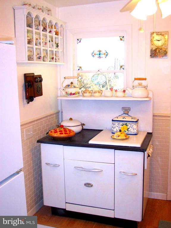OLD COOK STOVE/ YES THERE IS A NEWER  STOVE ALSO - 7814 ROCKY SPRINGS RD, FREDERICK