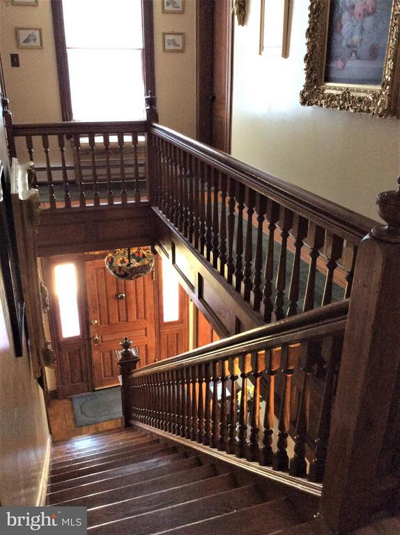 HINT OF STUNNING WOODWORK & CHESTNUT STAIRS - 7814 ROCKY SPRINGS RD, FREDERICK