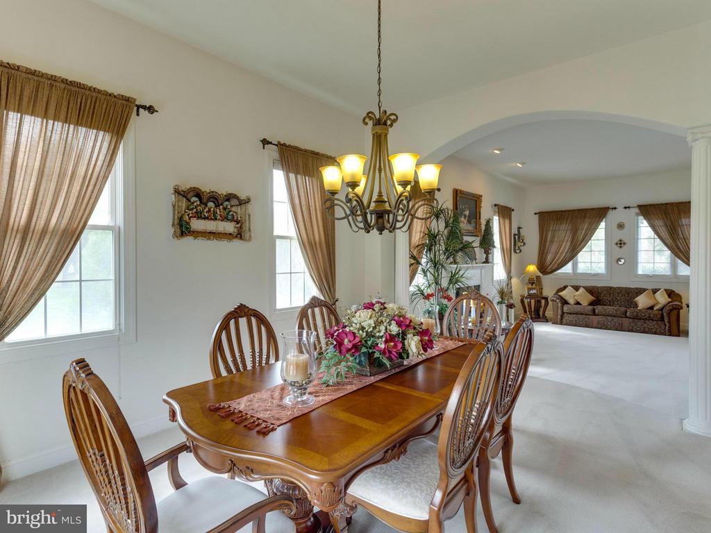 Dining Room - 11499 HOWAR CT, MANASSAS