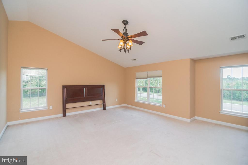 Large owner's suite w/vaulted ceiling. - 25975 MCCOY CT, CHANTILLY