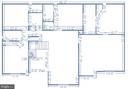 Upper level floor plan - 25975 MCCOY CT, CHANTILLY