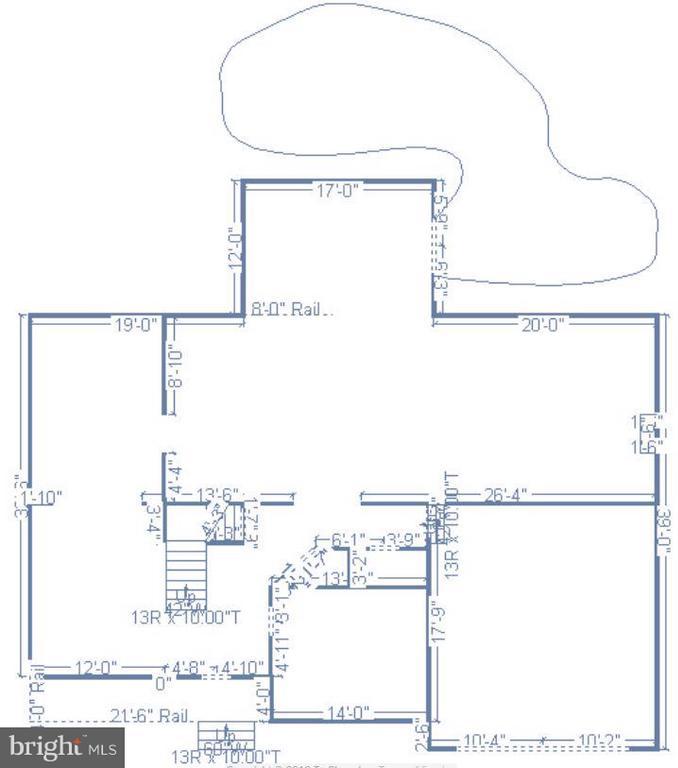 Main Level floor plan - 25975 MCCOY CT, CHANTILLY