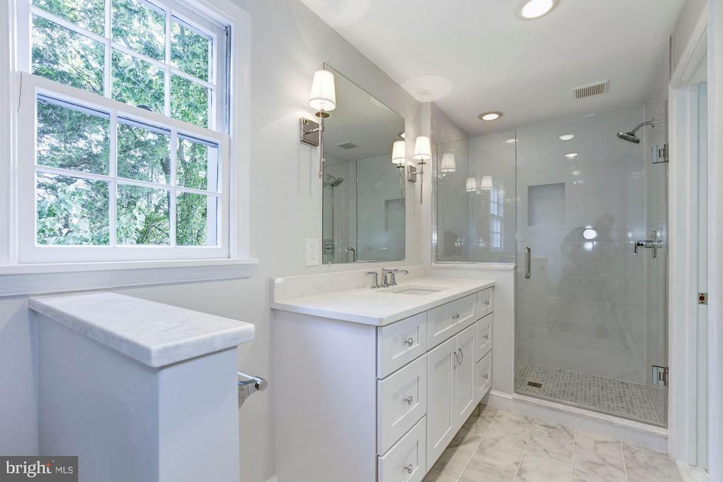 New Bath in Guest House 2 - 9325 BELLE TERRE WAY, POTOMAC