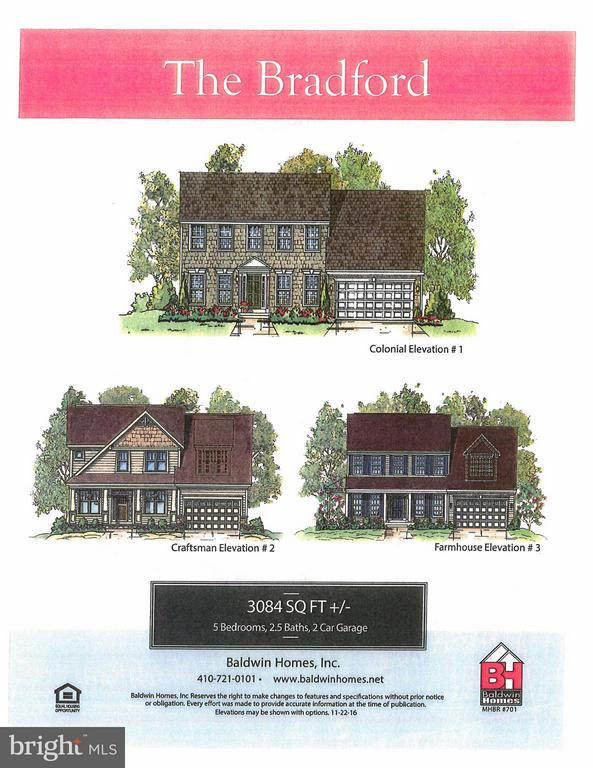 The Exciting Bradford Model - 1509 BEAUX LN, GAMBRILLS