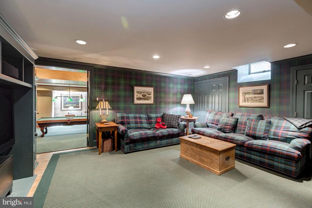 Lower level Media room - 2727 34TH PL NW, WASHINGTON