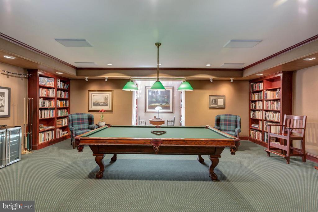 Lower level Billiard room - 2727 34TH PL NW, WASHINGTON