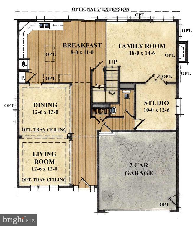 Excellent floor plan - 1502 SIRANI LN E, GAMBRILLS