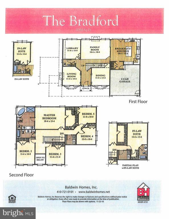 Excellent Layout with Many Options - 1508 SIRANI LN E, GAMBRILLS