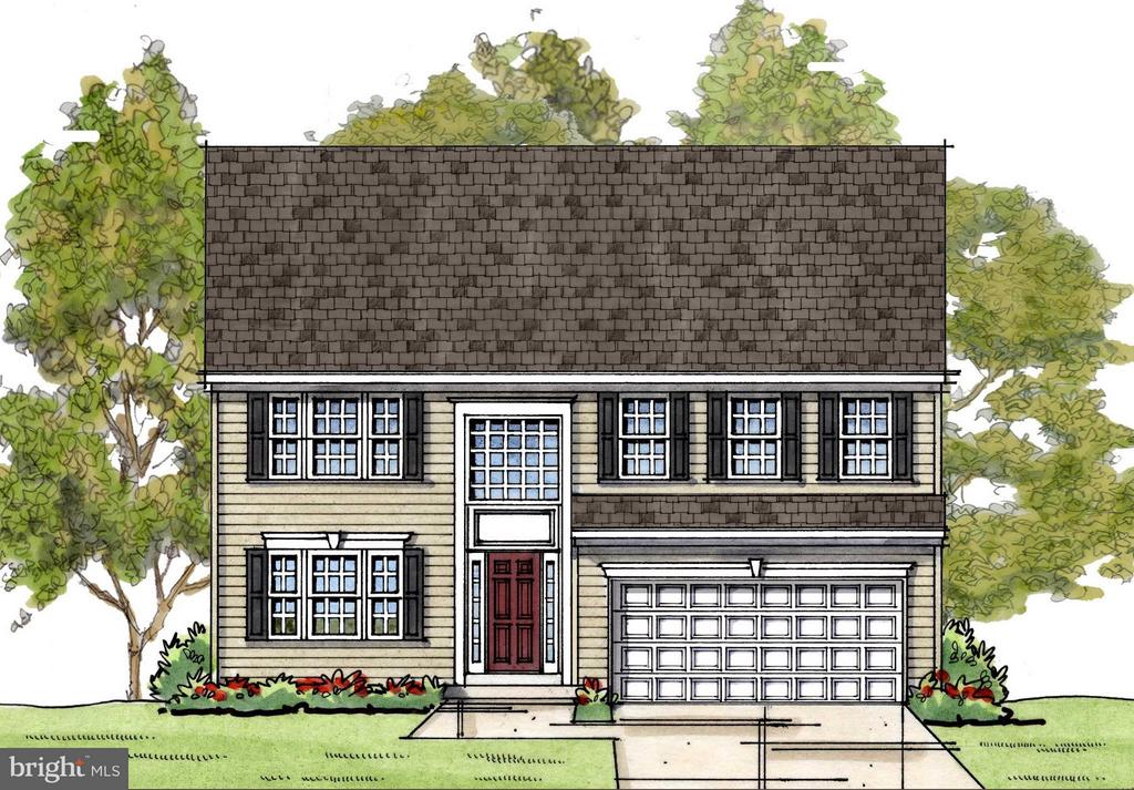 The Westover - Colonial Elevation - 1505 SIRANI LN, GAMBRILLS