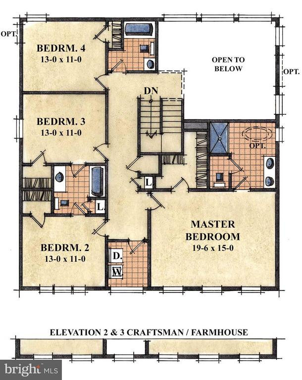 Option for two story family room - 1505 SIRANI LN, GAMBRILLS