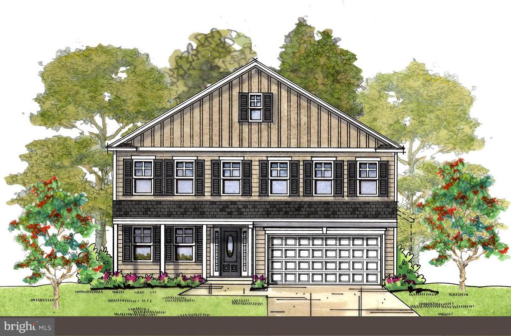 The Westover Model - Colonial Elevation Standard - 1509 SIRANI LN, GAMBRILLS